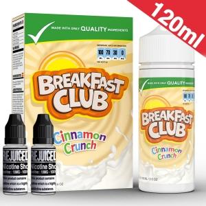 120ml Cinnamon Crunch - Breakfast Club Shortfill