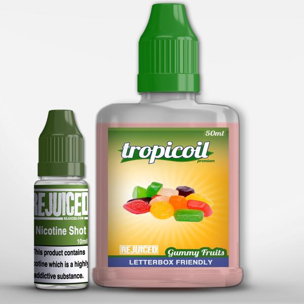 Gummy Fruits - 50ml Shortfill - Tropicoil