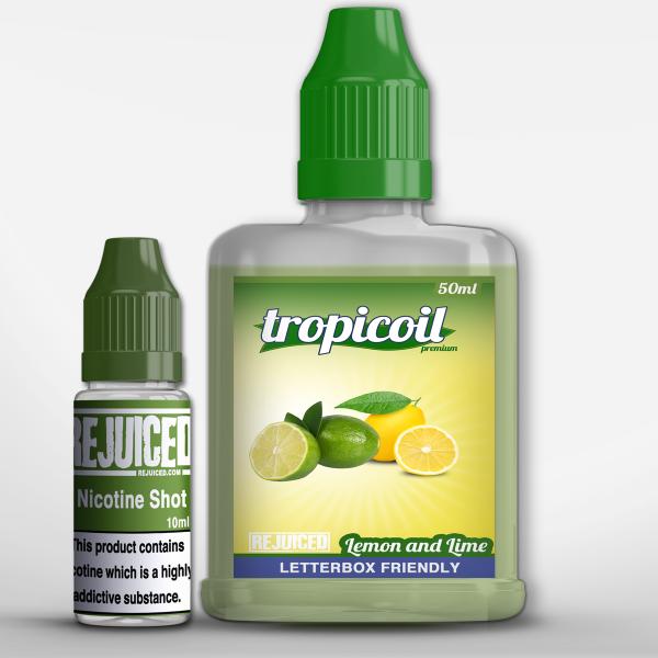 Lemon and Lime - 50ml Shortfill - Tropicoil