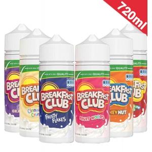 720ml Breakfast Club  - Shortfill Sample Pack