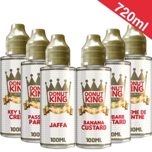 720ml Donut King Limited Edition - Shortfill Sample Pack