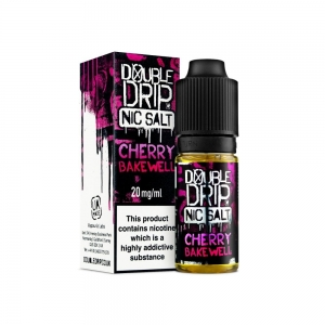 Cherry Bakewell Nic Salt - Double Drip