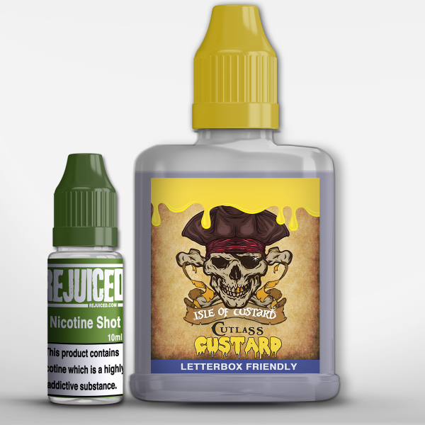 Cutlass Custard -  Shortfill