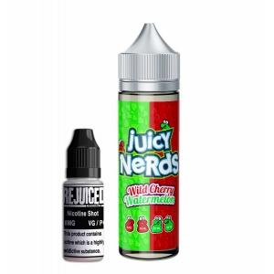 Wild Cherry & Watermelon - Juicy Nerds Shortfill