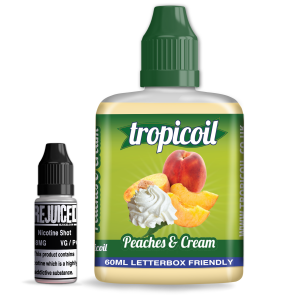 Peaches & Cream - Tropicoil Shortfill